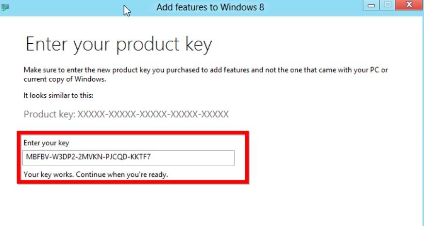 key windows 8.1
