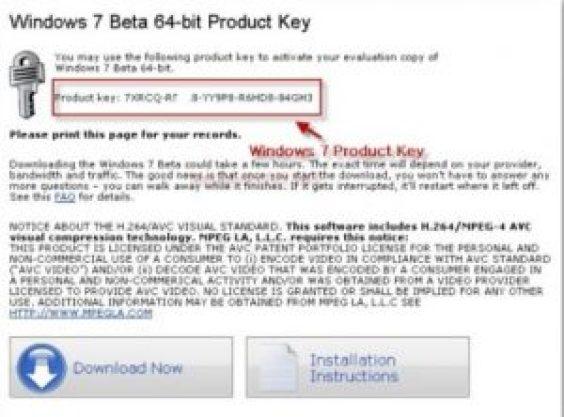 Windows 7 ultimate product key {100% working keys}