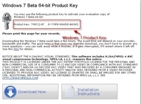 Windows 7 Ultimate Product key For (32 & 64 Bits) Full Working [2019]