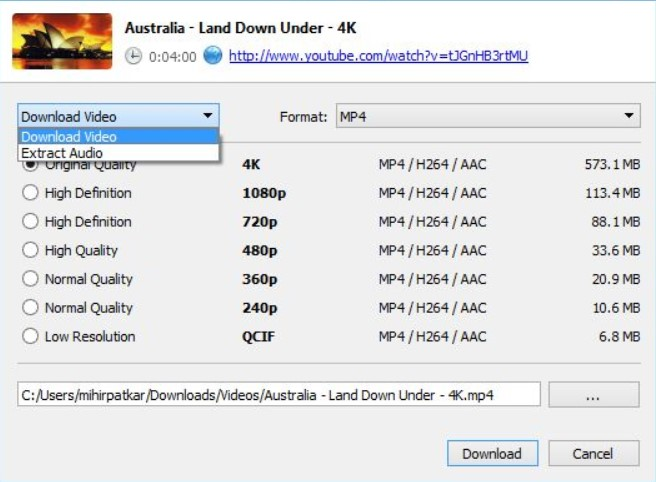 4K Video Downloader 4.7.0.2602 Serial Key+Product Key Full Free Download