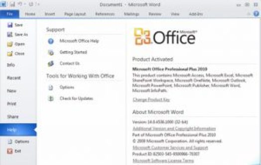 download com microsoft office 2010 free