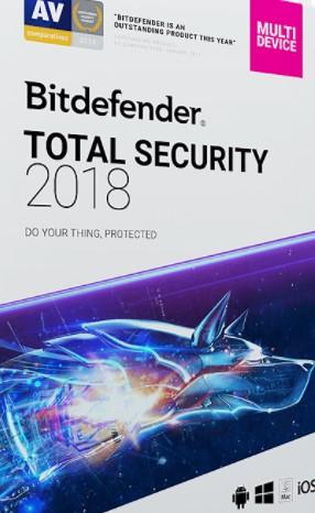 Bitdefender Total Security 2018 License Key {Crack + Patch + Full}