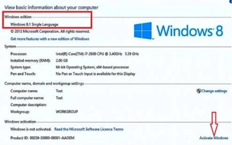 windows 8.1 product key september 2018