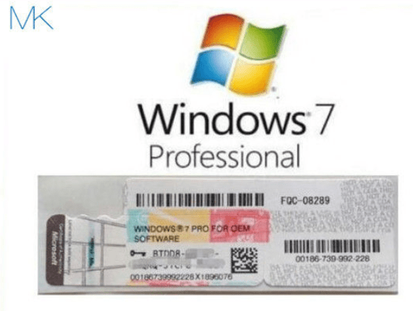 Windows 7 Professional Product Key For (32 & 64 Bits)  [100% Working]
