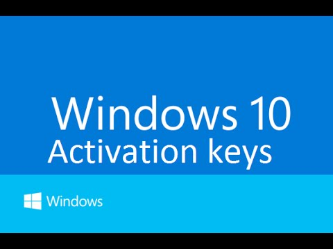 Free Windows 10 Product Key