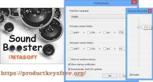 Letasoft Sound Booster Crack 1.11 Build 512 Full PC 2019 latest version