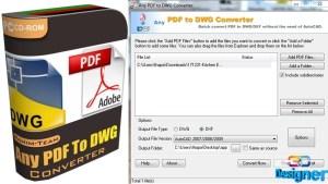Any PDF to DWG Converter 2018 Crack & Keygen Full Free Download