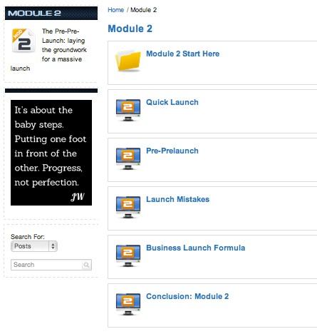 Product Launch Formula Review Module 2