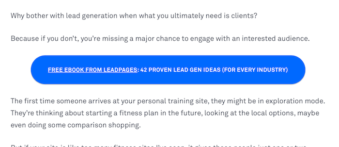 LeadPagesContent Upgrade