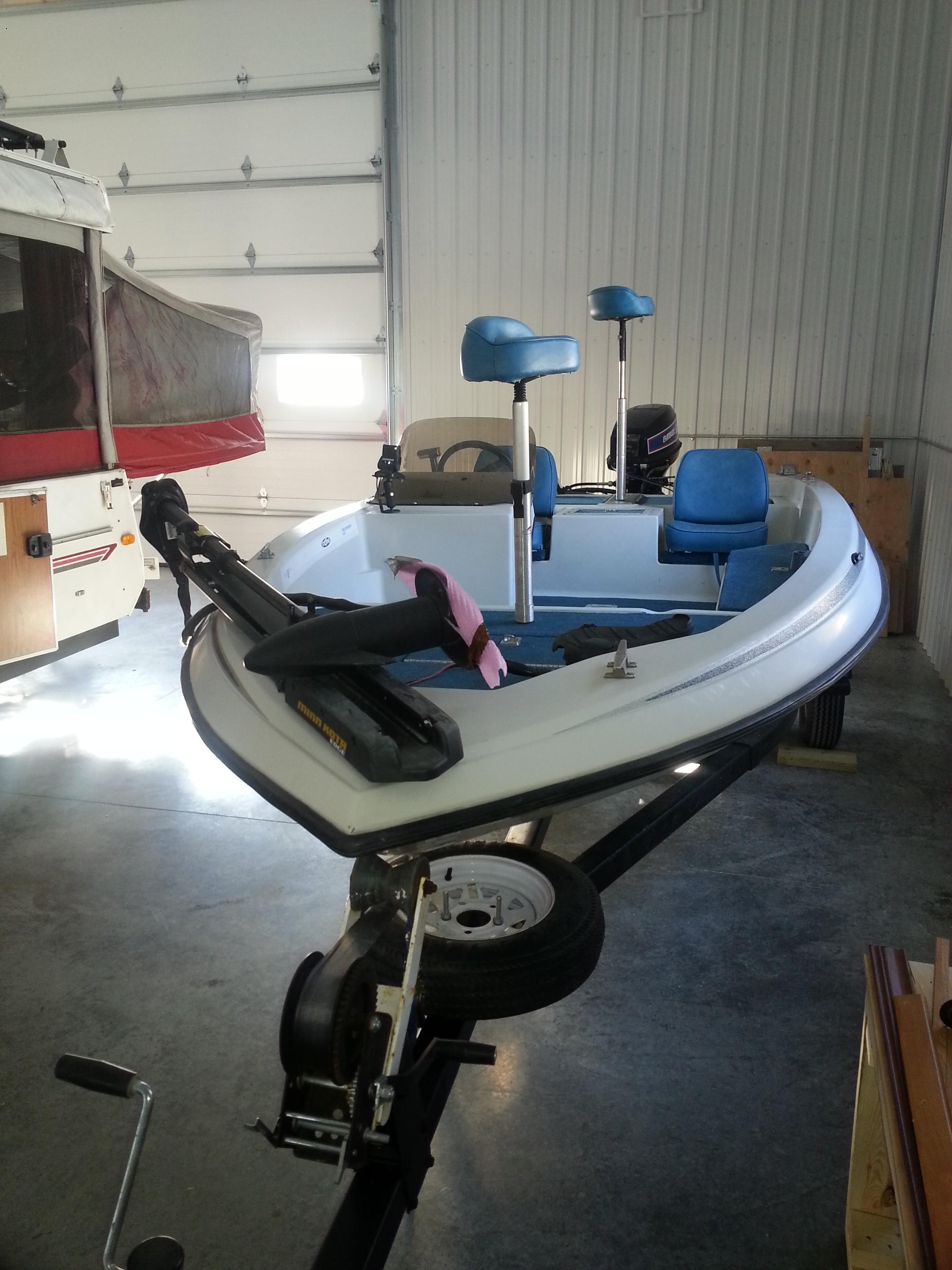 1987 Skeeter Bass Fishing Boat Sold