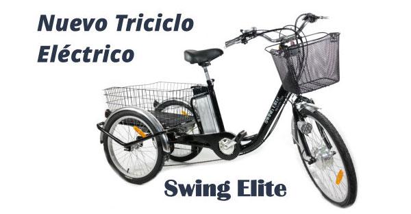 Un español diseña un triciclo eléctrico para personas