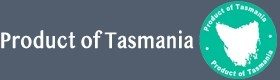 Product of Tasmania footer logo