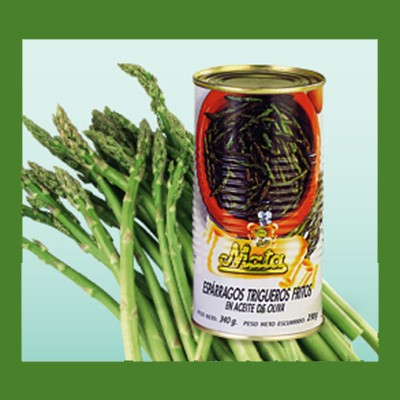 Green Baby Asparagus in olive oil MATA