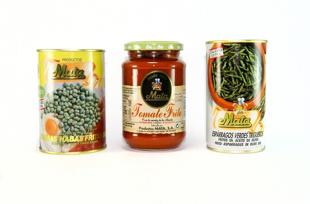 Conservas Vegetales – Productos Mata