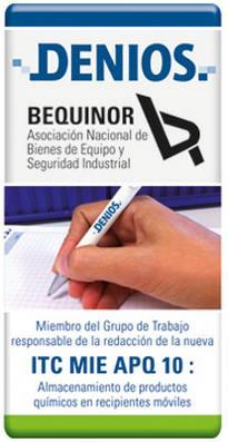 DENIOS colaborando con BEQUINOR en el nuevo reglamento APQ