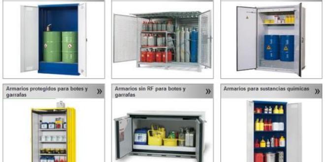 Armarios de seguridad para productos químicos – Pincha para elegir