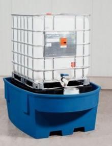 Estación de llenado de contenedor de 1000 litros: GRG, KTC o IBC