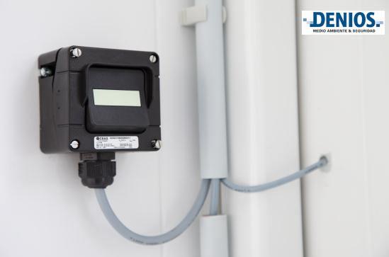 Interruptor ATEX de luces de la sala técnica de almacenamiento