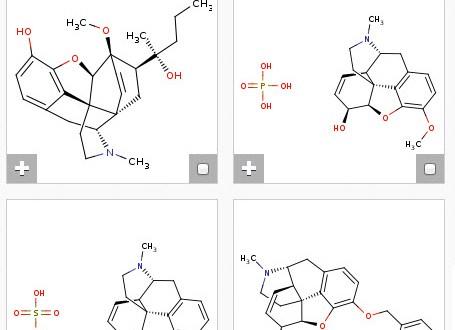 SureChem: base de datos de estructuras químicas