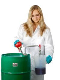 Gestión de derrames: bombas para sustancias inflamables