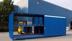 Contenedor modular APQ para 80 bidones
