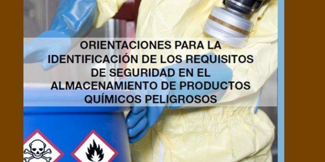 Identificación de requisitos de seguridad en el almacenamiento de productos químicos
