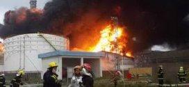 Un incendio en una planta química china obliga a evacuar a más de 29.000 personas