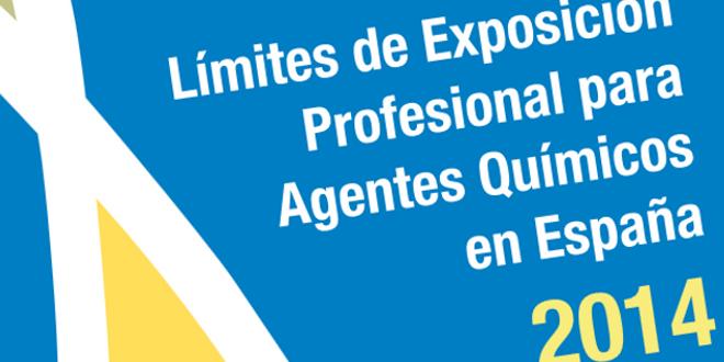 Límites de exposición profesional para agentes químicos