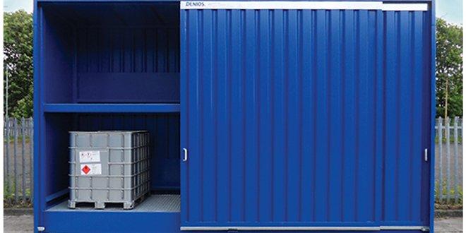 Opciones para cámara de calentamiento de almacenamiento de productos químicos