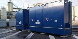 Almacenes para contaminantes y líquidos inflamables