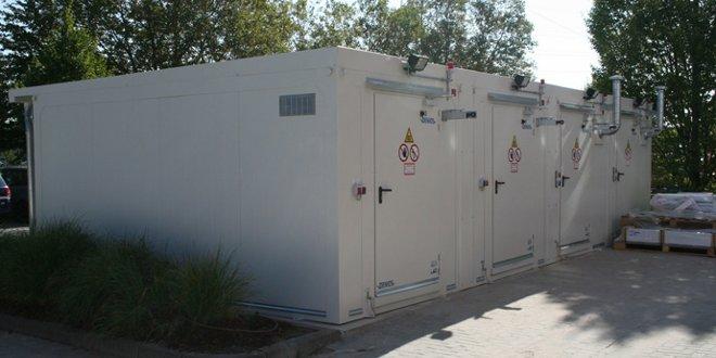Sistema de almacenes para líquidos inflamables