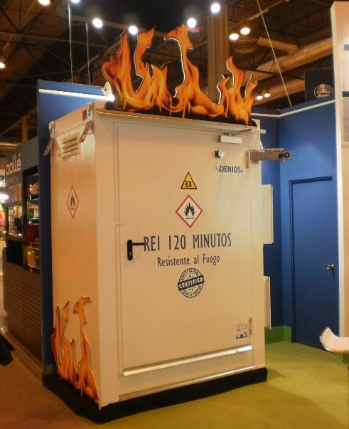 Almacén Resistente al Fuego, REI 120
