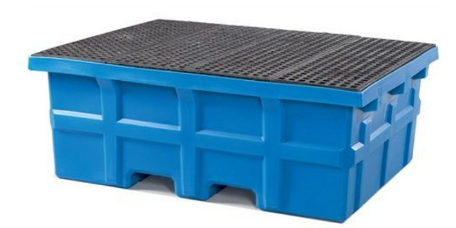 Bancadas antiderrames y suelos de retención