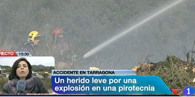 Alerta química por una explosión en Rodonya, en Tarragona