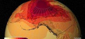 La NASA revela aumento de temperaturas a pesar de la desaceleración del calentamiento global