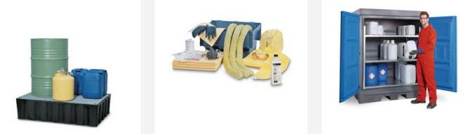 Pack de productos para el almacenamiento de cloro