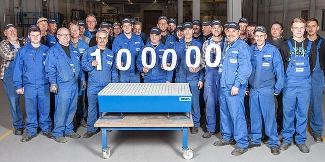 Fabricación del cubeto de acero número 100.000