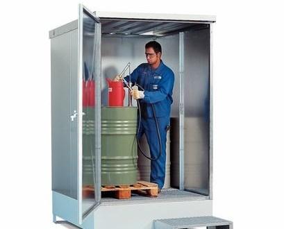 Depósito aislante antifros que funciona como una pequeña cámara para calentar sustancias