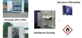 Caso práctico APQ: Almacenamiento de bidones y GRG de inflamables en el exterior