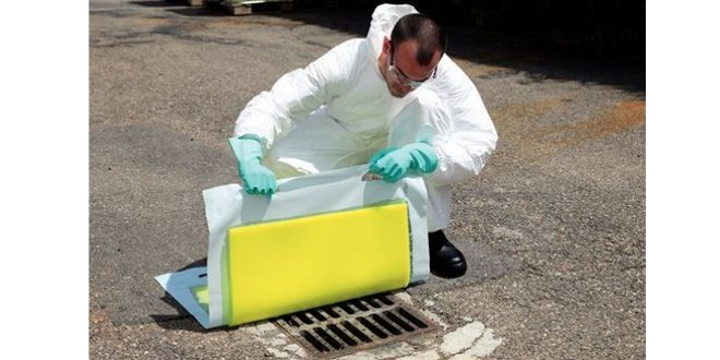 Gestión de fugas químicas