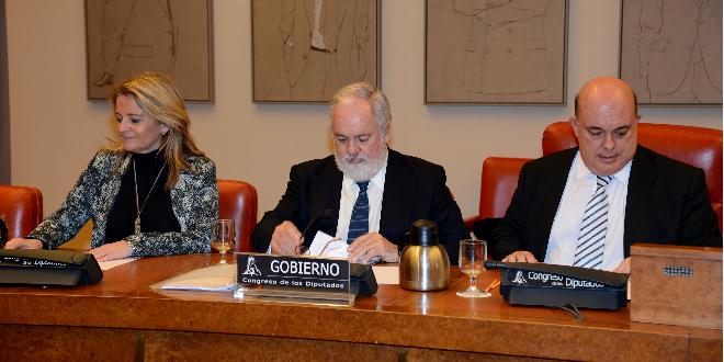 Arias Cañete en la Comisión para el Estudio del Cambio Climático