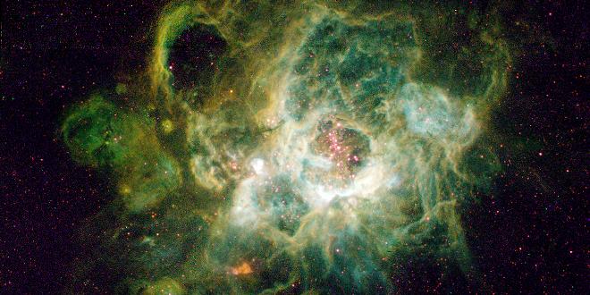 Galaxia de hidrógeno