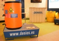 Manta calefactora ATEX de DENIOS