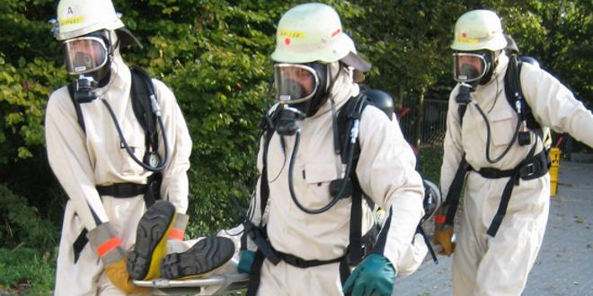 Simulacro contra accidentes de productos químicos en Brasil