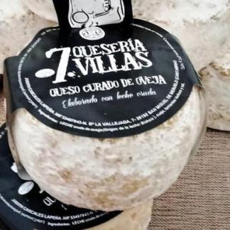 queso curado de oveja 7 villas