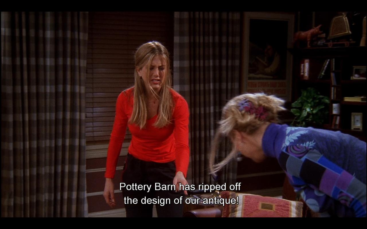 Pottery Barn Friends TV Show