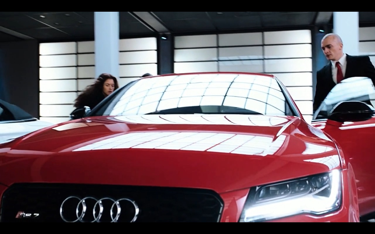 Red Audi RS7  Hitman Agent 47 2015 Movie