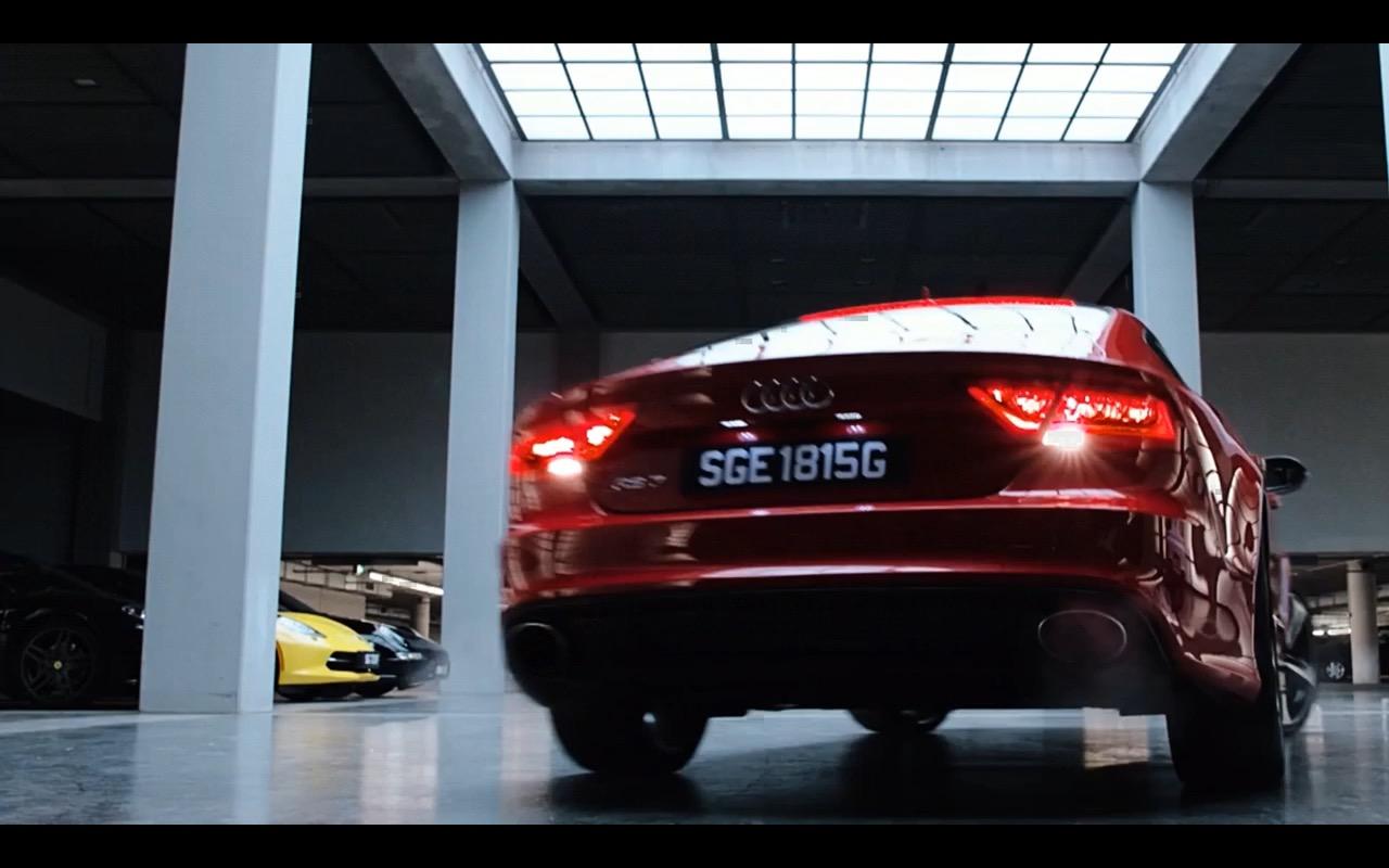 Cars Headlights Wallpaper Red Audi Rs7 Hitman Agent 47 2015 Movie