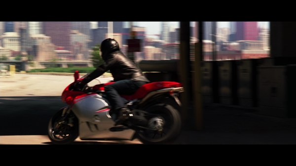 Mv Agusta M4 Motorcycle Driven Christian Bale In