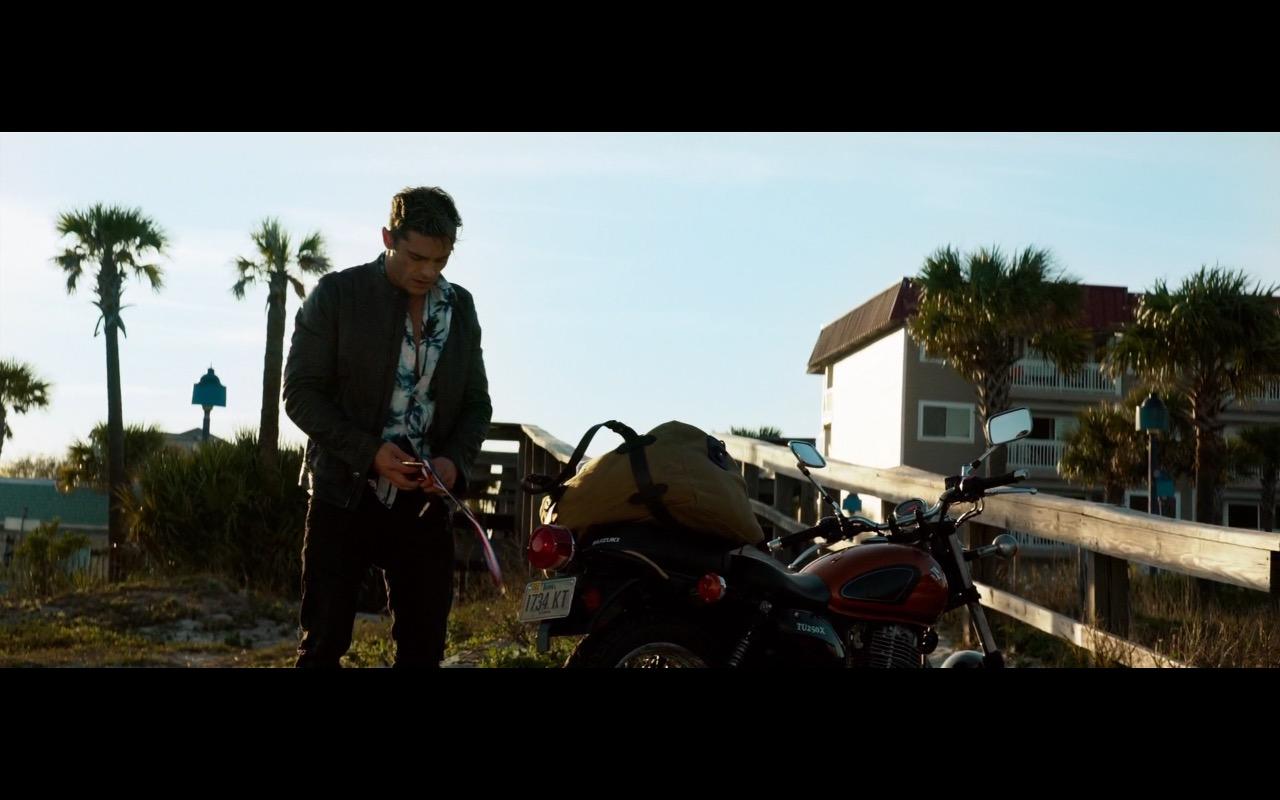 Zac Efron And Suzuki Motorcycle Baywatch 2017 Movie